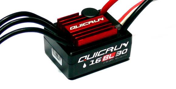 HOBBYWING QUICRUN WP16BL30 R/C Brushless Motor 30A ESC Speed Controller SL201