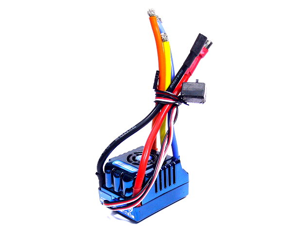 HOBBYWING XERUN Competition Blue R/C Brushless 150A ESC Speed Controller (Used)