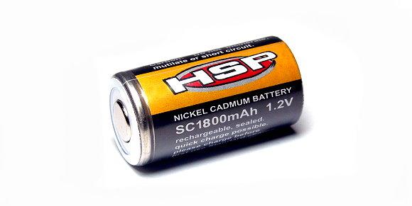 HSP Model SC1800mAh 1.2V RC Hobby Nickel Cadmum Battery NB600