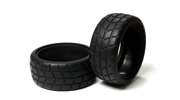 HSP Racing R/C Hobby 62x26mm On-Road 02116 RC Model Radial Tires WT348