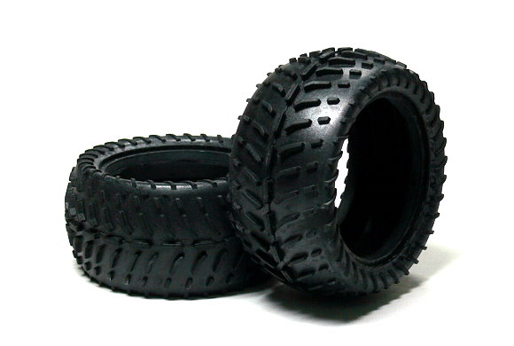 HSP Racing R/C Hobby 86x42mm Off-Road 06025VR RC Model Buggy Tires WT378