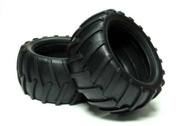 HSP Racing R/C Hobby 112x56mm Off-Road 08009 RC Model Buggy Tires WT402