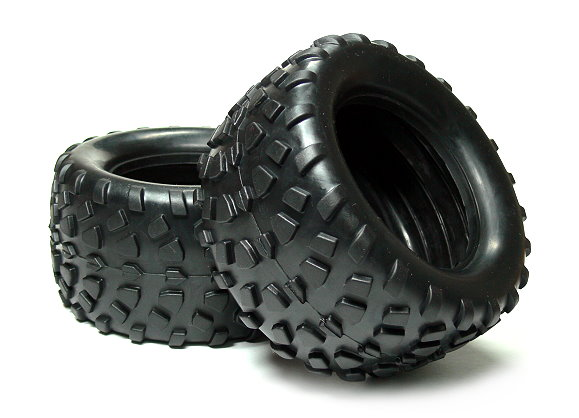 HSP Racing R/C Hobby 126x66mm Off-Road 08043 RC Model Buggy Tires WT405