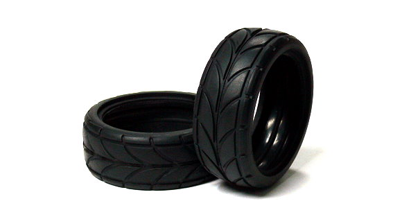 HSP Racing R/C Hobby 46x18mm On-Road 82828 RC Model Radial Tires WT342