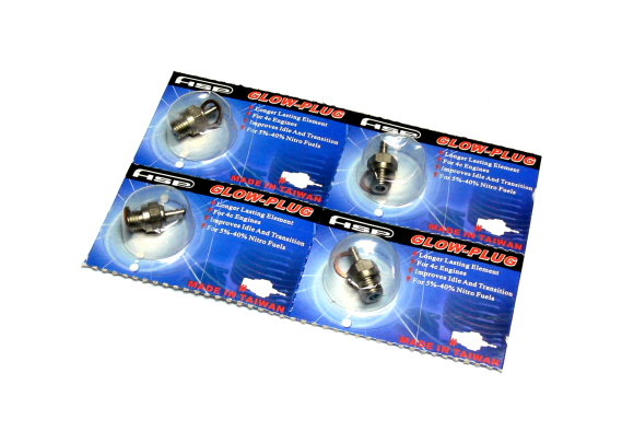 4x HSP RC Model No.3 R/C Hobby Engine Glow Plug (Hot) CA203