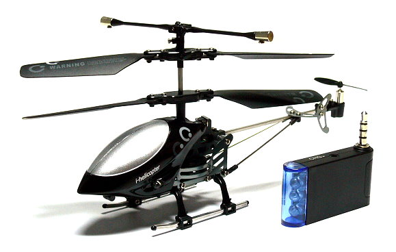 RC Electric 777-172 3ch Black Mini i-helicopter for iPhone/iTouch/iPad EH014