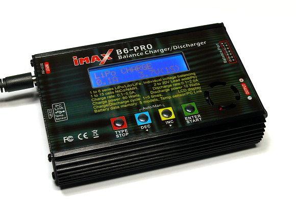 iMAX RC Model B6 PRO Li-Polymer Li-Po Balance Digital Charger / Discharger BC450