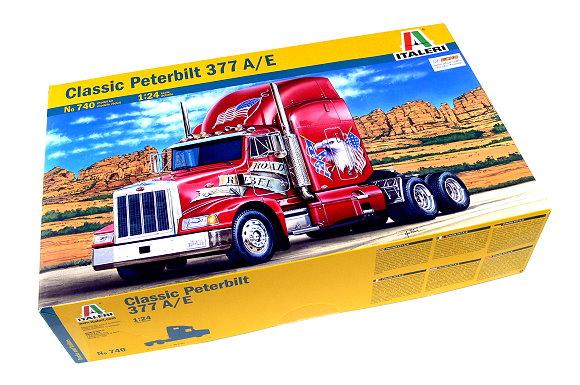 ITALERI Truck & Trailers Model 1/24 Classic Peterbilt 377 A/E Hobby 740 T0740