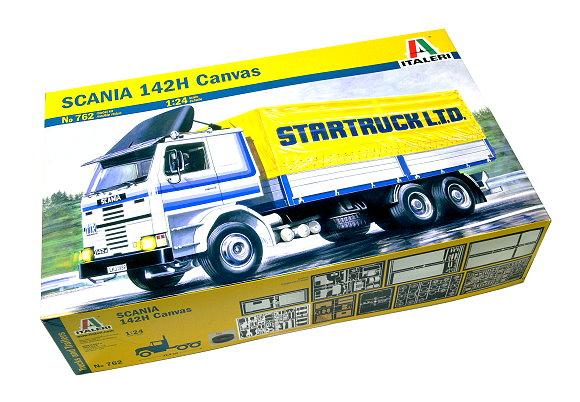 ITALERI Truck & Trailers Model 1/24 SCANIA 142H Canvas Scale Hobby 762 T762