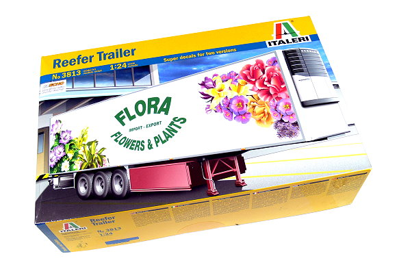 ITALERI Truck & Trailers Model 1/24 Reefer Trailer Scale Hobby 3813 T3813