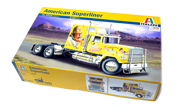 ITALERI Truck & Trailers Model 1/24 American Suoerliner Scale Hobby 3820 T3820