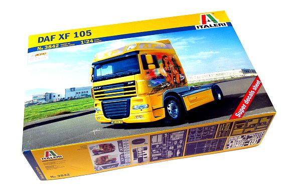 ITALERI Truck & Trailers Model 1/24 DAF XF 105 Scale Hobby 3842 T3842