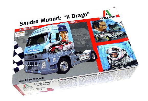 ITALERI Truck & Trailers Model 1/24 Sandro Munari il Drago Hobby 3849 T3849