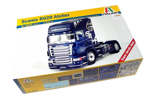 ITALERI Truck & Trailers Model 1/24 Scania R620 Atelier Scale Hobby 3850 T3850