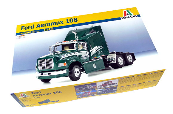ITALERI Truck & Trailers Model 1/24 Ford Aeromax 106 Scale Hobby 3891 T3891
