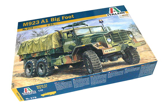 ITALERI Military Model 1/35 M923 A1 Big Foot Scale Hobby 279 T0279