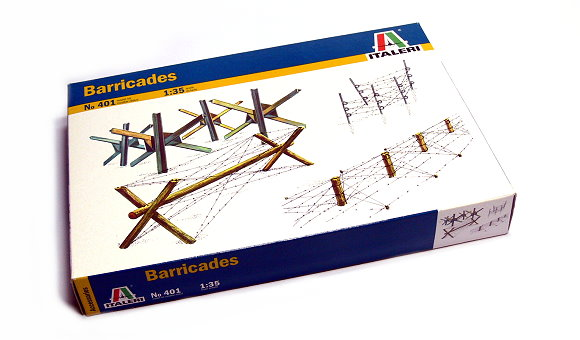 ITALERI Military Model 1/35 Accessories Barricades Scale Hobby 401 T0401