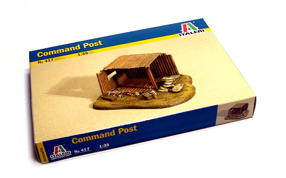 ITALERI Military Model 1/35 Accessories Command Post Scale Hobby 417 T0417