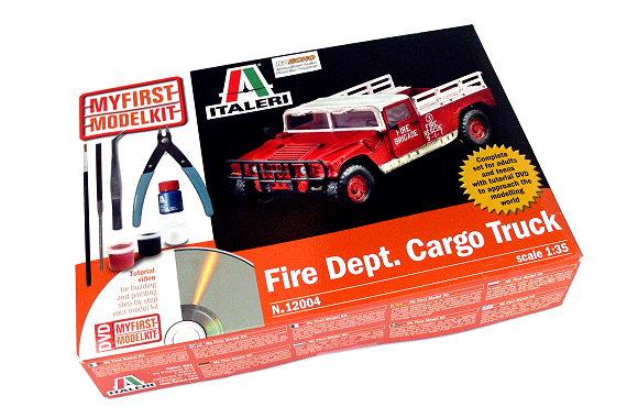 ITALERI Truck & Trailers Model 1/35 Fire Dept Cargo Truck Hobby 12004 T2004