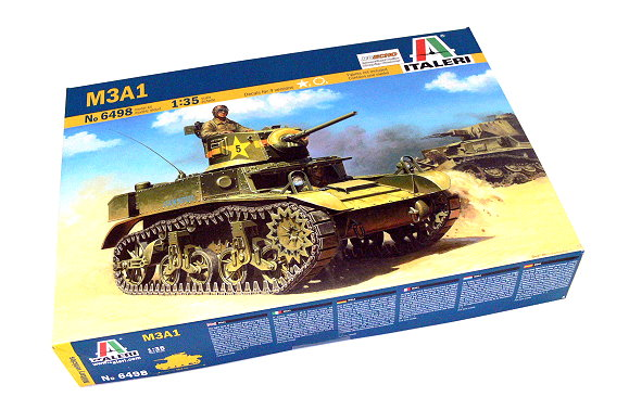 ITALERI Military Model 1/35 M3A1 Scale Hobby 6498 T6498