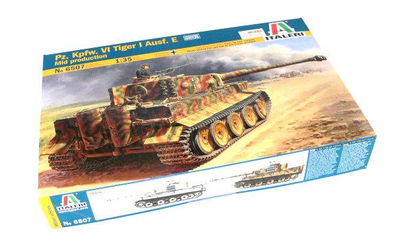 ITALERI Military Model 1/35 Pz Kpfw VI Tiger I Ausf. E Mid production 6507 T6507