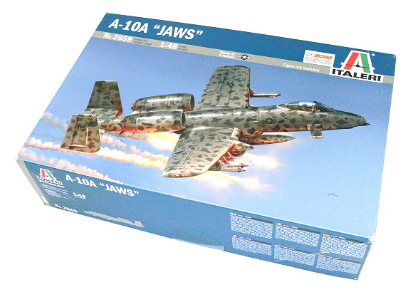 ITALERI Aircraft Model 1/48 A-10 JAWS Scale Hobby 2659 T2659