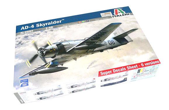 ITALERI Aircraft Model 1/48 AD-4 Skyraider Scale Hobby 2697 T2697