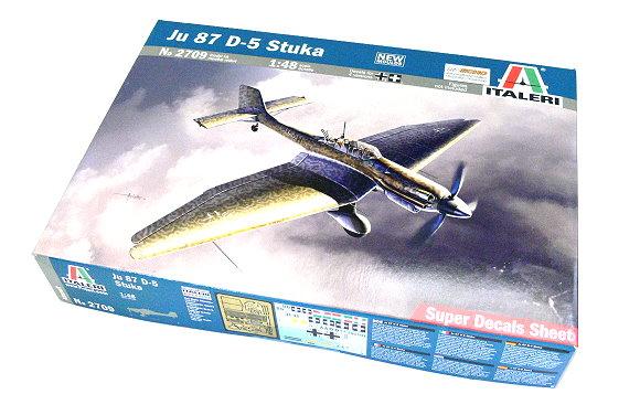 ITALERI Aircraft Model 1/48 Ju 87 D-5 Stuka Scale Hobby 2709 T2709