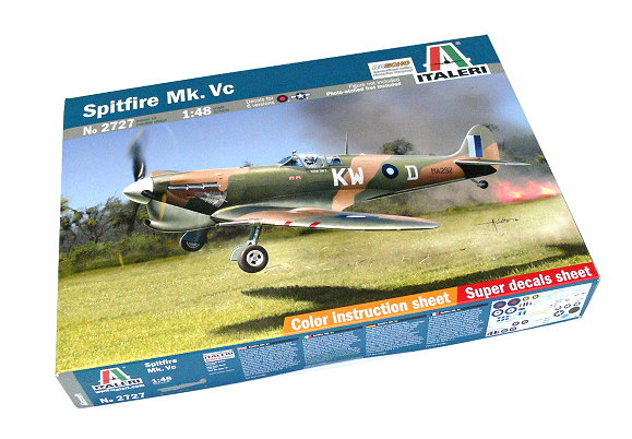 ITALERI Aircraft Model 1/48 Spitfire Mk. Vc Scale Hobby 2727 T2727