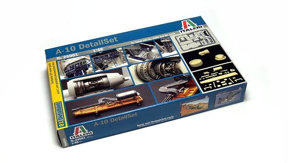 ITALERI Military Model 1/48 Accessories A-10 DetailSet Scale Hobby 26001 T6001