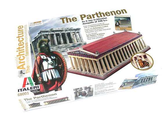 ITALERI Building Model Architecture The Parthenon Scale Hobby 68001 T8001