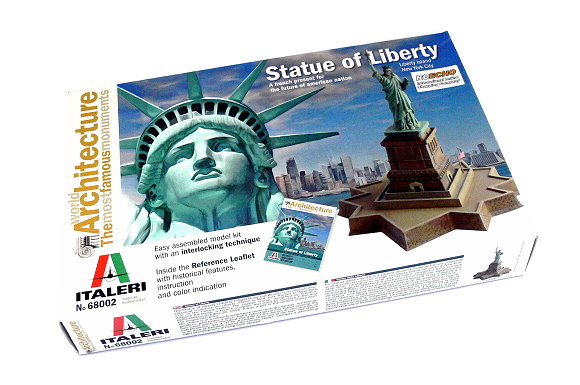 ITALERI Building Model Architecture The Statue of Liberty Hobby 68002 T8002