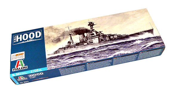 ITALERI Military Model 1/720 War Ship H.M.S. Hood Scale Hobby 501 T0501
