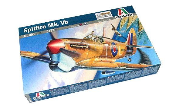 ITALERI Aircraft Model 1/72 Spitfire Mk. Vb Scale Hobby 001 T0001
