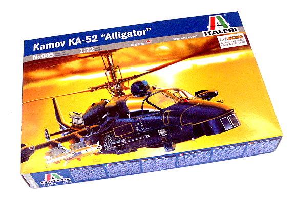 ITALERI Helicopter Model 1/72 Kamov KA-52 Alligator Scale Hobby 005 T0005