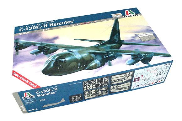 ITALERI Aircraft Model 1/72 Lockheed Martin C-130E / H Hercules Hobby 015 T0015