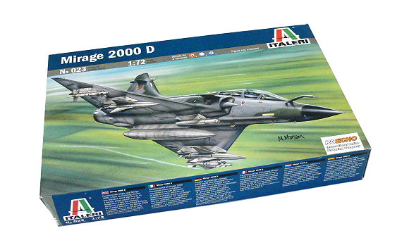 ITALERI Aircraft Model 1/72 Mirage 2000 D Scale Hobby 023 T0023