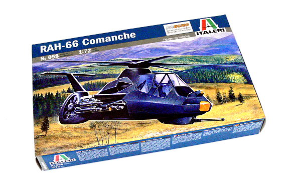 ITALERI Helicopter Model 1/72 RAH-66 Comanche Scale Hobby 058 T0058