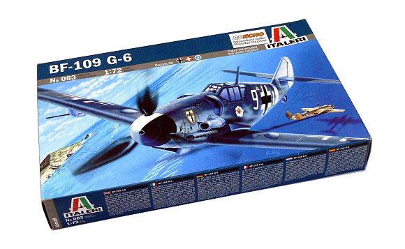 ITALERI Aircraft Model 1/72 BF-109 G-6 Scale Hobby 063 T0063