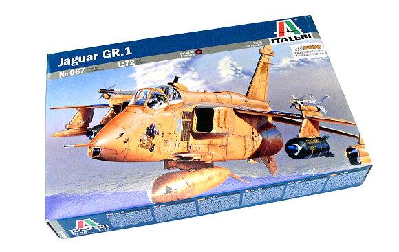 ITALERI Aircraft Model 1/72 Jaguar GR.1 Scale Hobby 067 T0067