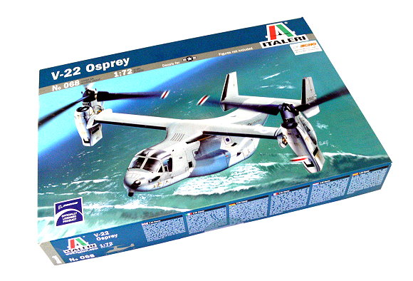 ITALERI Aircraft Model 1/72 V-22 Osprey Scale Hobby 068 T0068