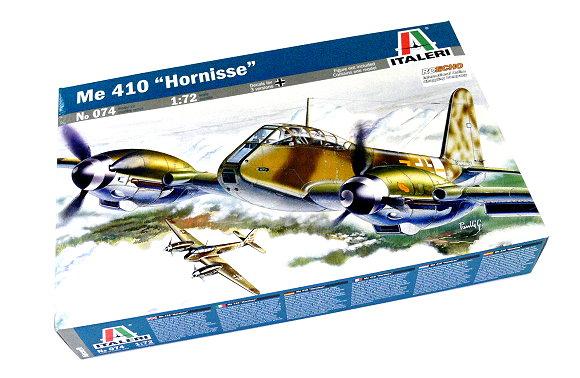 ITALERI Aircraft Model 1/72 Me 410 Hornisse Scale Hobby 074 T0074