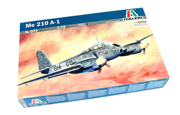 ITALERI Aircraft Model 1/72 Me 210 A-1 Scale Hobby 077 T0077