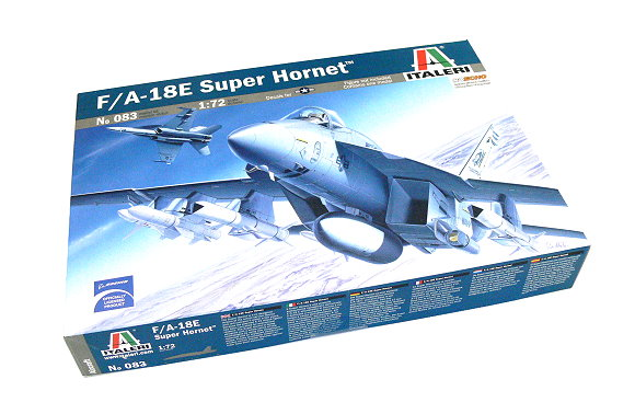 ITALERI Aircraft Model 1/72 F/A-18E Super Hornet Scale Hobby 0083 T0083