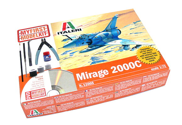 ITALERI Aircraft Model 1/72 My First Model Kit Mirage 2000C Hobby 12005 H1205