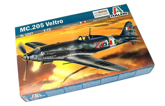 ITALERI Aircraft Model 1/72 MC. 205 Veltro Scale Hobby 1227 T1227