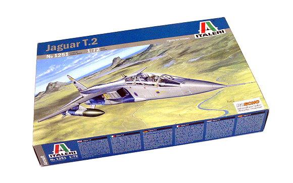 ITALERI Aircraft Model 1/72 Jaguar T.2 Scale Hobby 1251 T1251