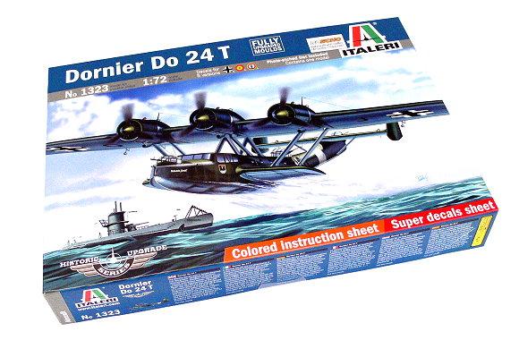 ITALERI Aircraft Model 1/72 Historic Upgrade Series Dornier Do 24 T 1323 T1323