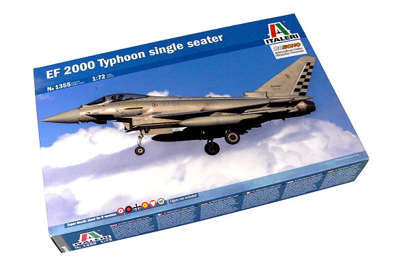 ITALERI Aircraft Model 1/72 EF 2000 Typhoon single seater Hobby 1355 T1355