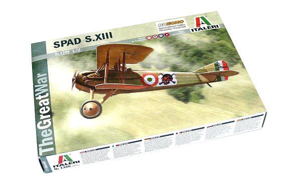 ITALERI Aircraft Model 1/72 SPAD S.XIII Scale Hobby 1366 T1366